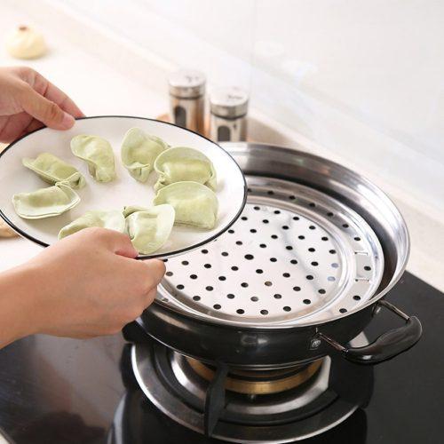 Bandeja METAL Cocina al vapor cocinar receta