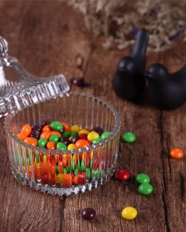 Caja Caramelos CRISTAL redonda dulces ecológico sostenible ecoamazon natural reciclable