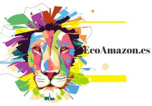 EcoAmazon LEON melena colores sostenible ecológico reciclable bitcoin logo