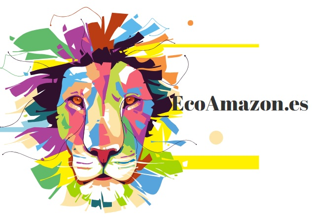 EcoAmazon logo LEON melena multicolor ecológico sostenible reciclable natural EcoAmazon.es