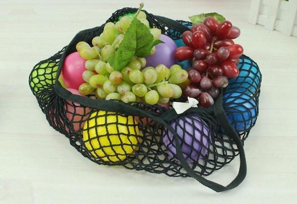 Malla algodon negra color ecológico sostenible ecoamazon natural reciclable reutilizable bio salud