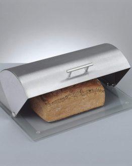 Panera Acero Metal y cristal Pan ecológico sostenible ecoamazon natural reciclable