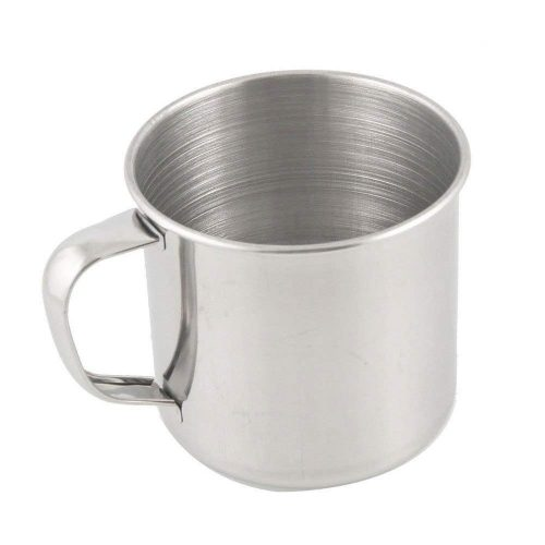 Taza METAL Viaje ecológico sostenible ecoamazon natural reciclable