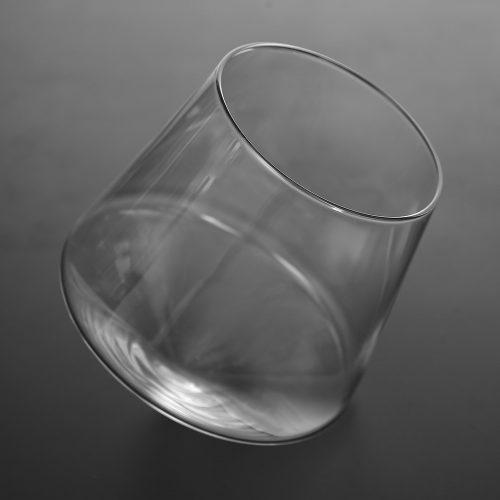 Vaso Whisky CRISTAL vidrio sostenible ecológico bitcoin