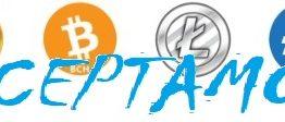 bitcoin litecoin bch cash dash ACEPTAMOS AZUL ecológico sostenibles