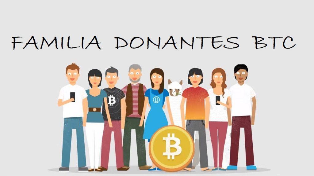 CryptoEcoAmazon Familia donantes BITCOIN ALTCOINS cripto sostenible btc